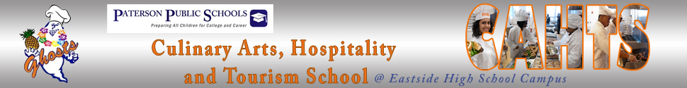 Culinary Arts, Hospitality and Tourism School @ Eastside  Logo